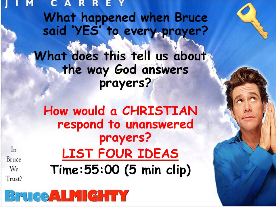 What happened when Bruce said 'YES' to every prayer