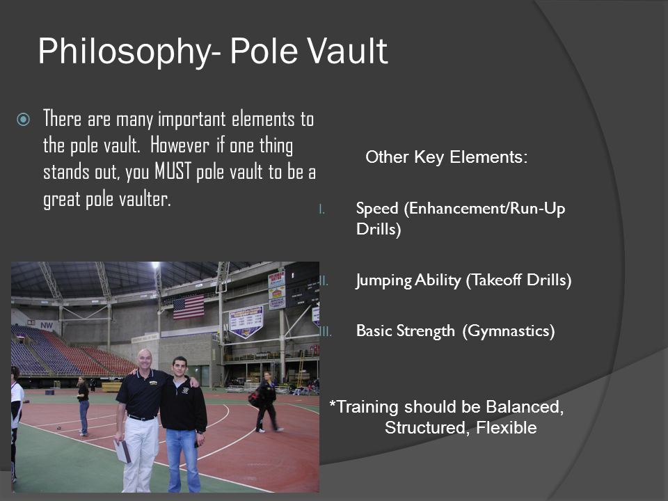 Philosophy- Pole Vault