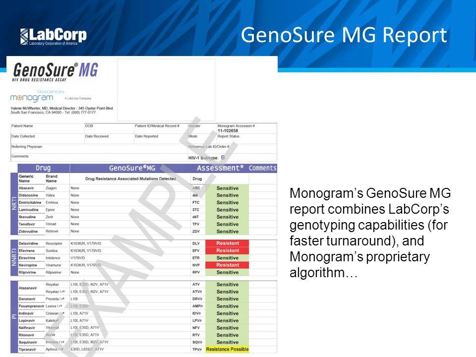 GenoSure MG Report