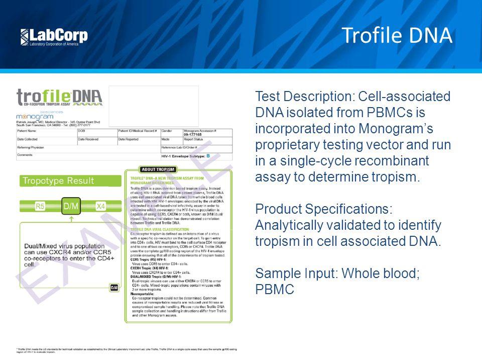 Trofile DNA