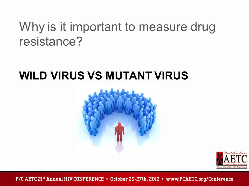 Wild Virus vs Mutant virus