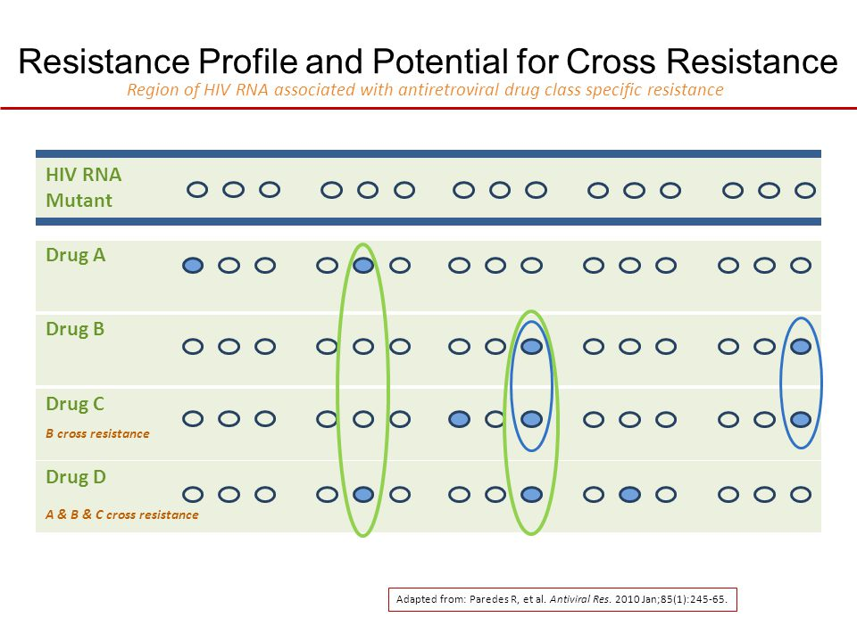 Resistance Profile and Potential for Cross Resistance