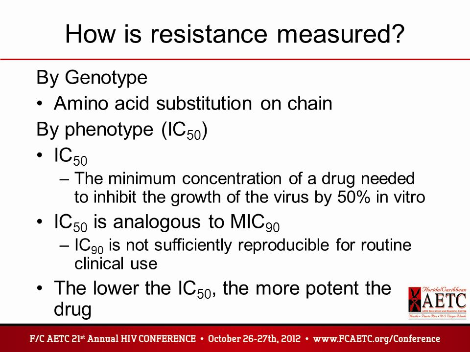 How is resistance measured