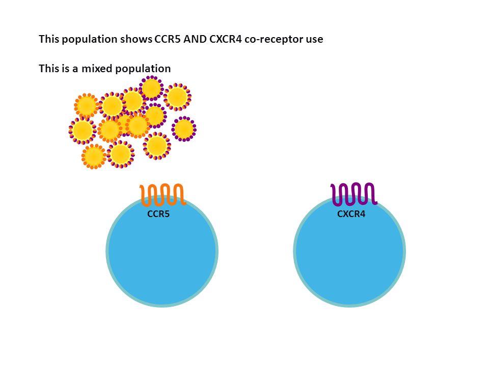 Demonstration of mixed virus population