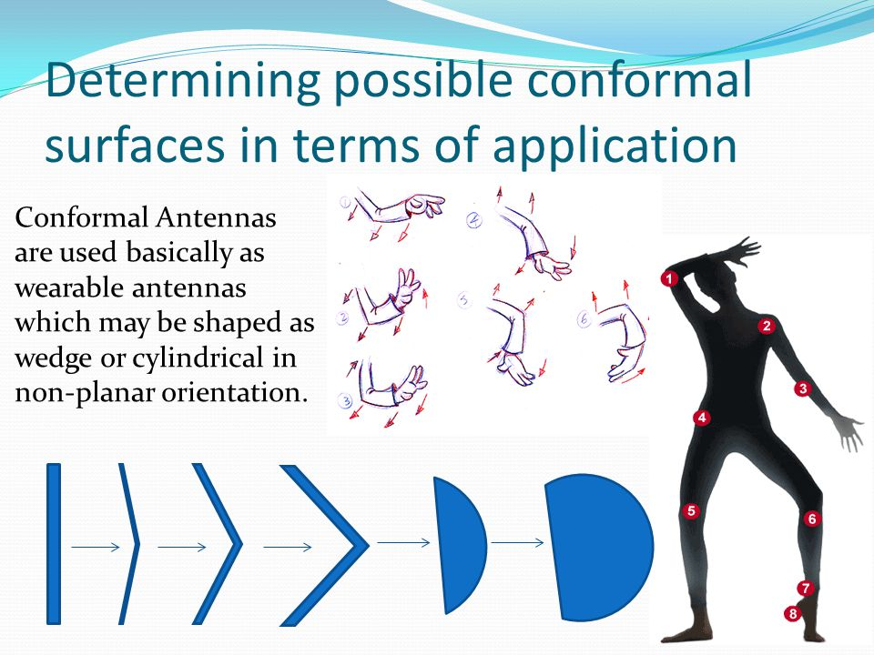 Determining possible conformal surfaces in terms of application