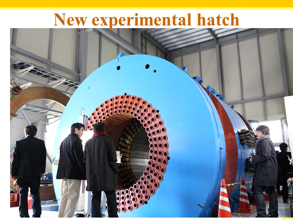 New experimental hatch