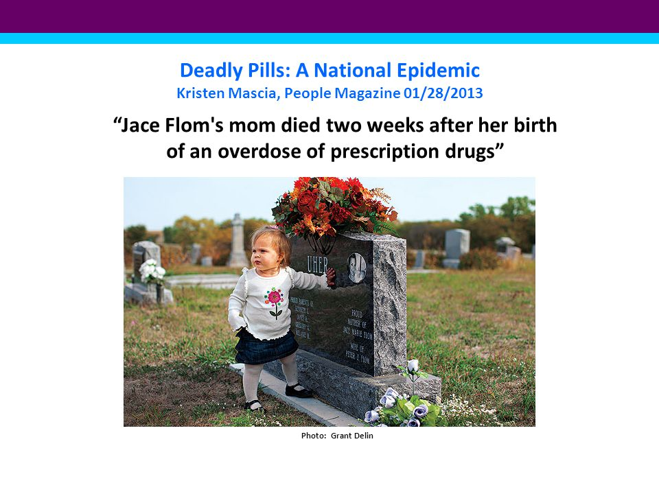 Deadly Pills: A National Epidemic