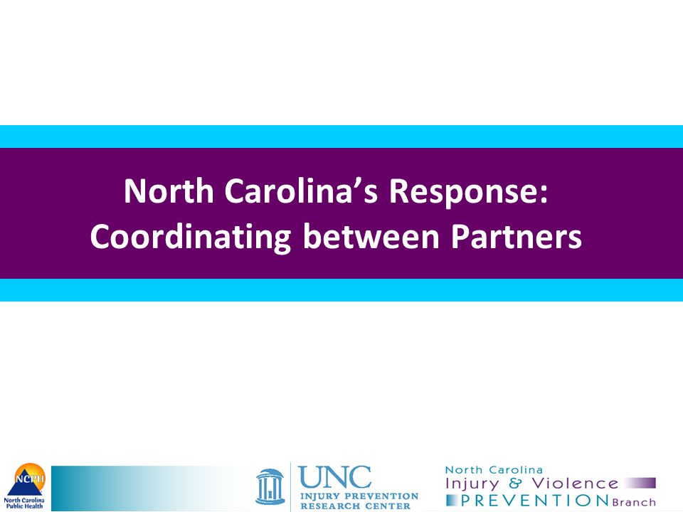 North Carolina's Response: Coordinating between Partners