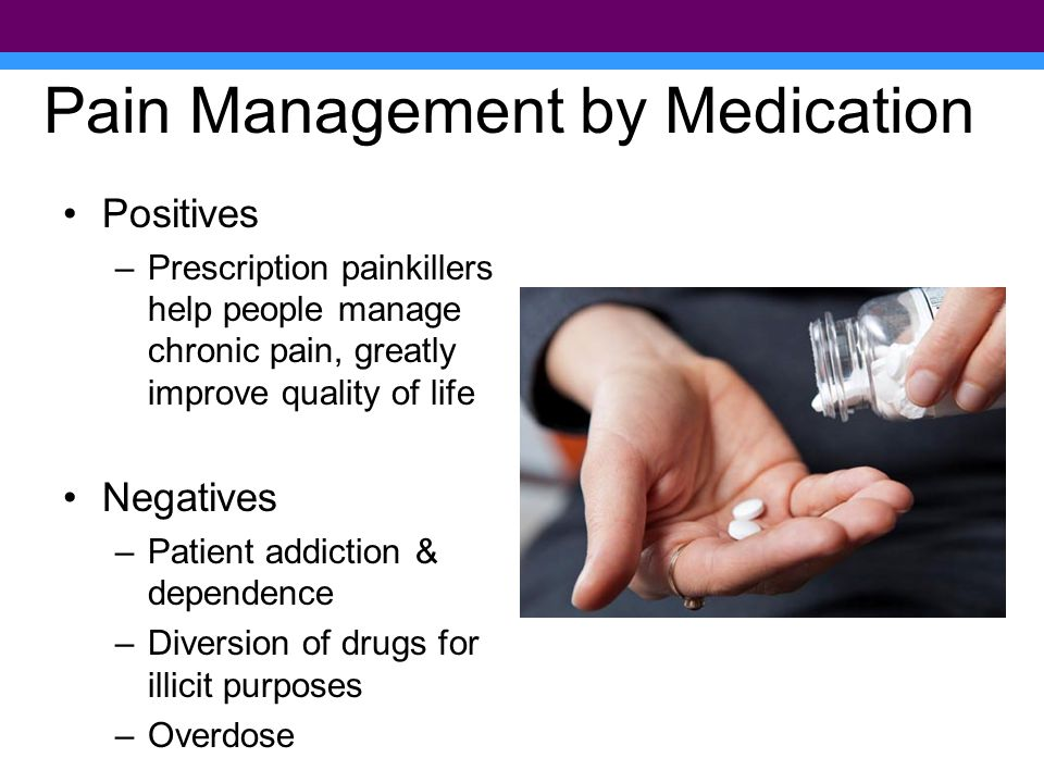 Pain Management by Medication