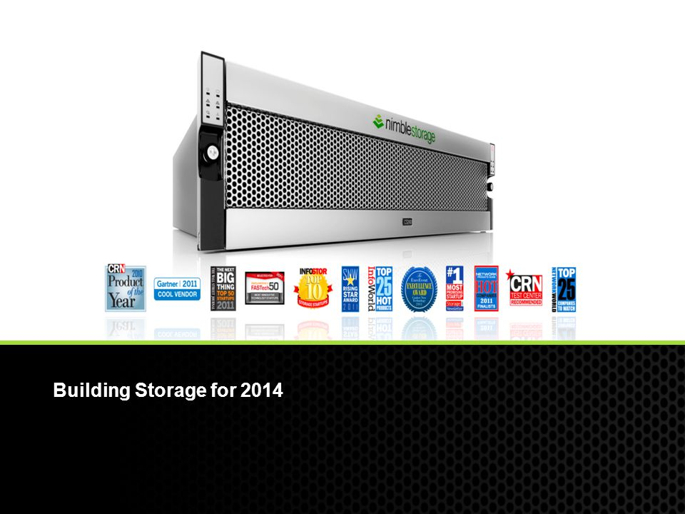 Building Storage for 2014