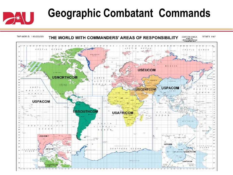 Geographic Combatant Commands