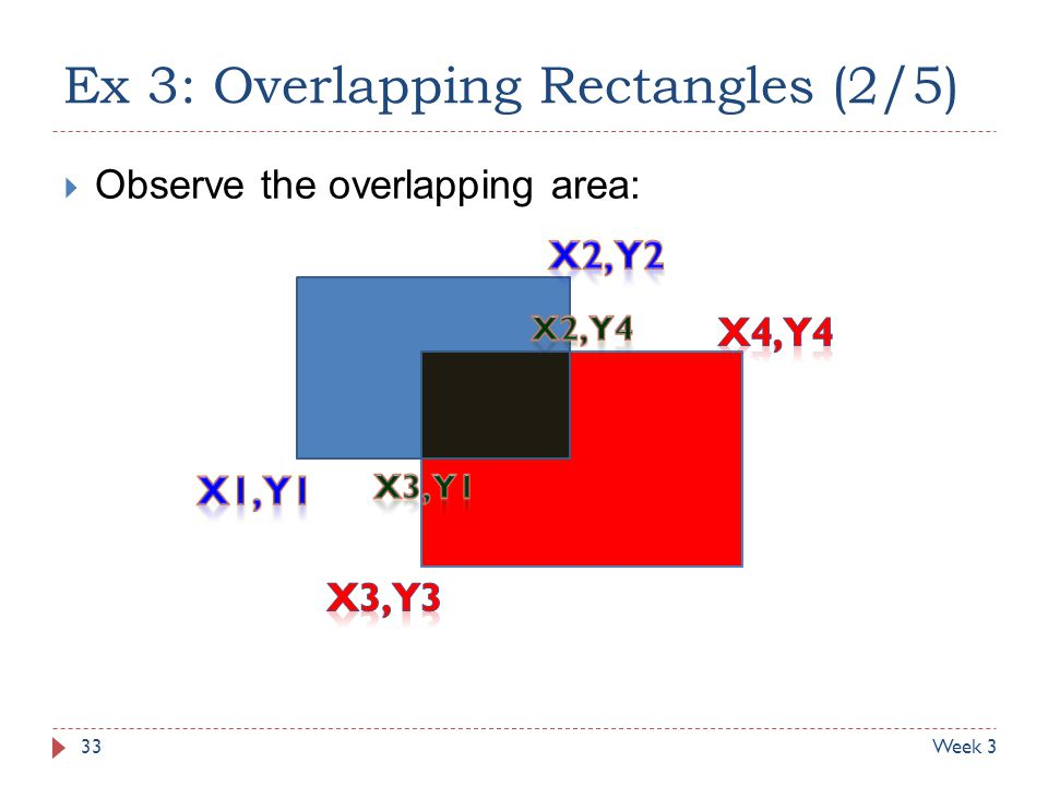 Ex 3: Overlapping Rectangles (2/5)