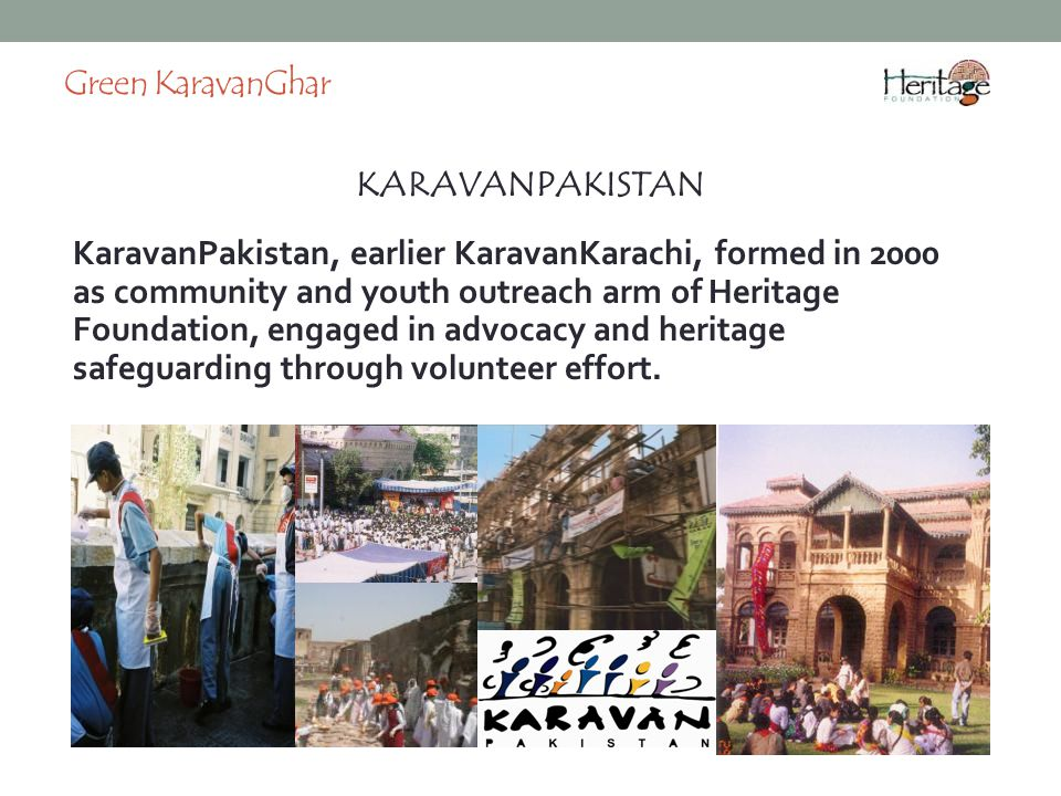 Green KaravanGhar KARAVANPAKISTAN.
