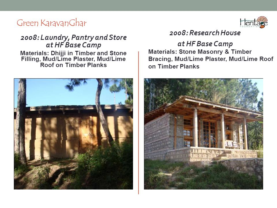 2008: Laundry, Pantry and Store at HF Base Camp