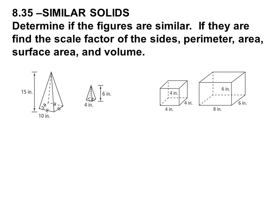 8.35 –SIMILAR SOLIDS