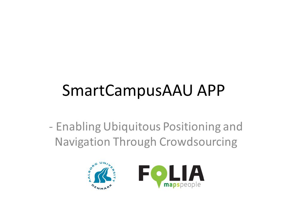 - Enabling Ubiquitous Positioning and Navigation Through Crowdsourcing