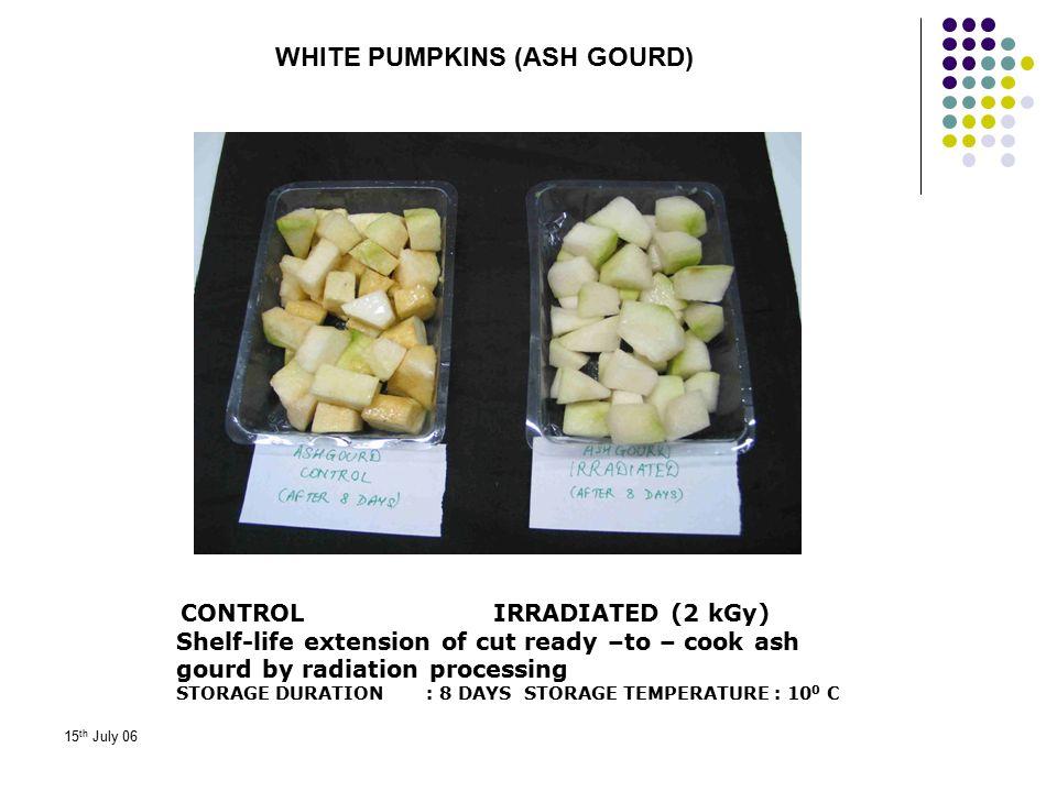 WHITE PUMPKINS (ASH GOURD)