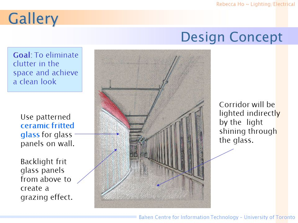 Gallery Design Concept