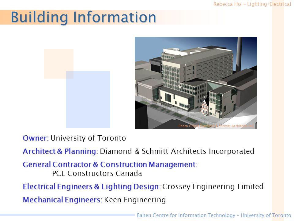 Building Information Owner: University of Toronto