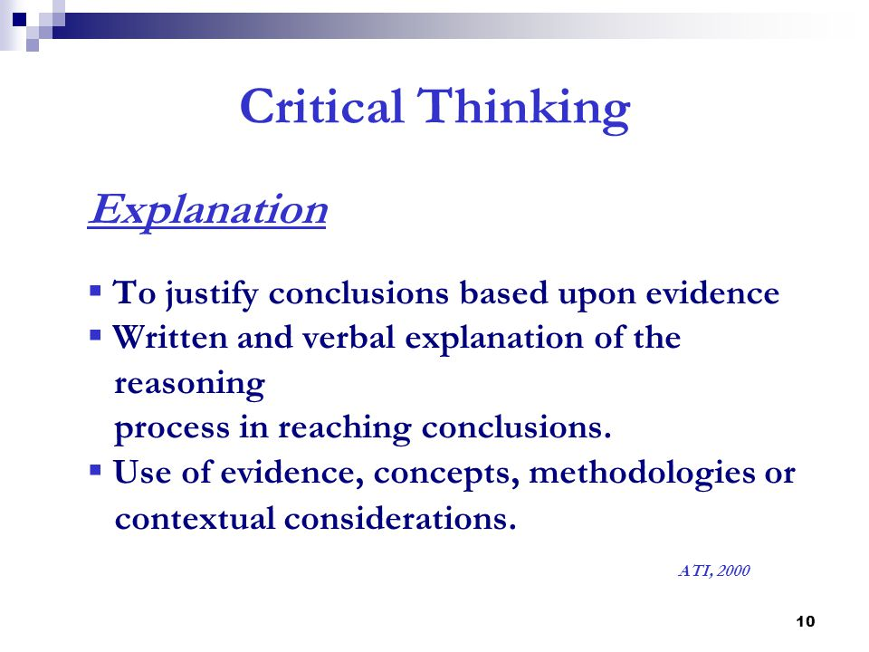 ati critical thinking test Ati nursenotes nursing qa - critical thinking ati nursenotes nursing q a critical once all criminal justice thesis ideas are successfully completed, the participant will become critical.