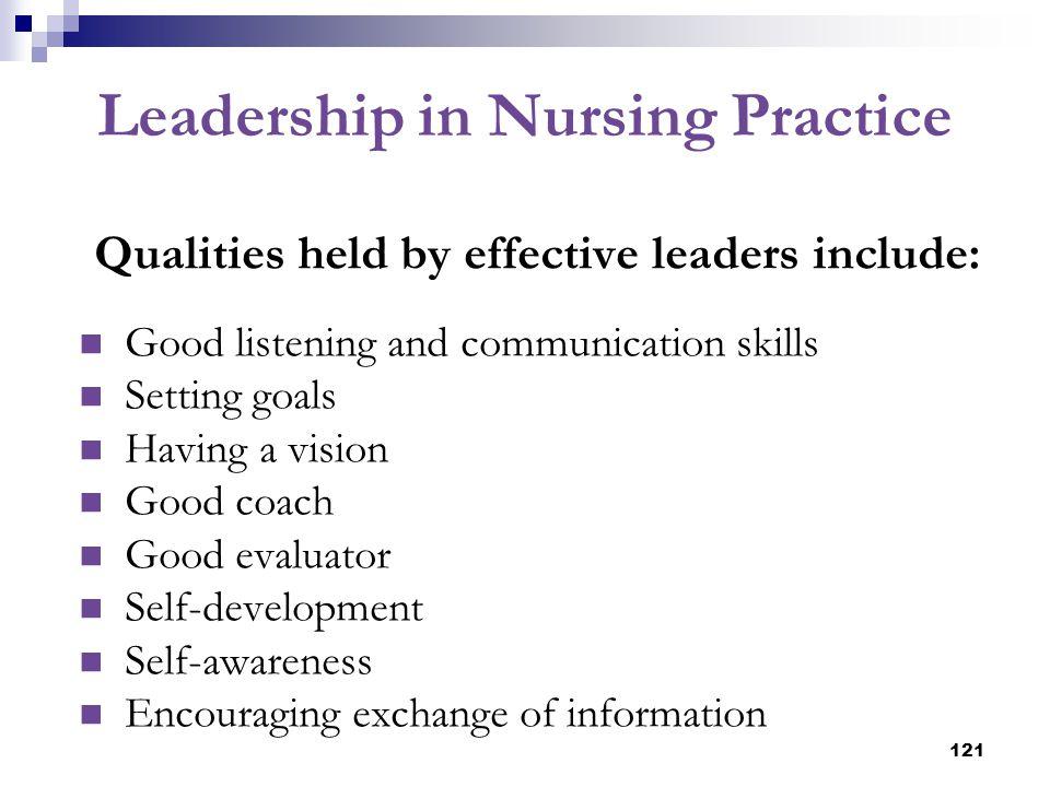 Leadership in Nursing Practice