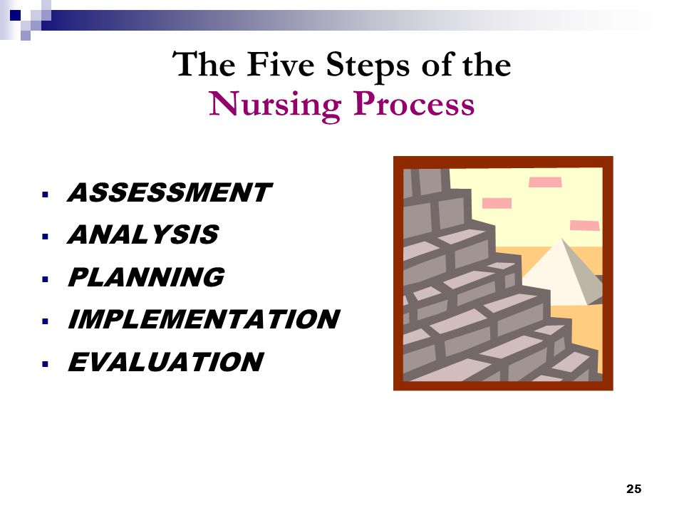The Five Steps of the Nursing Process