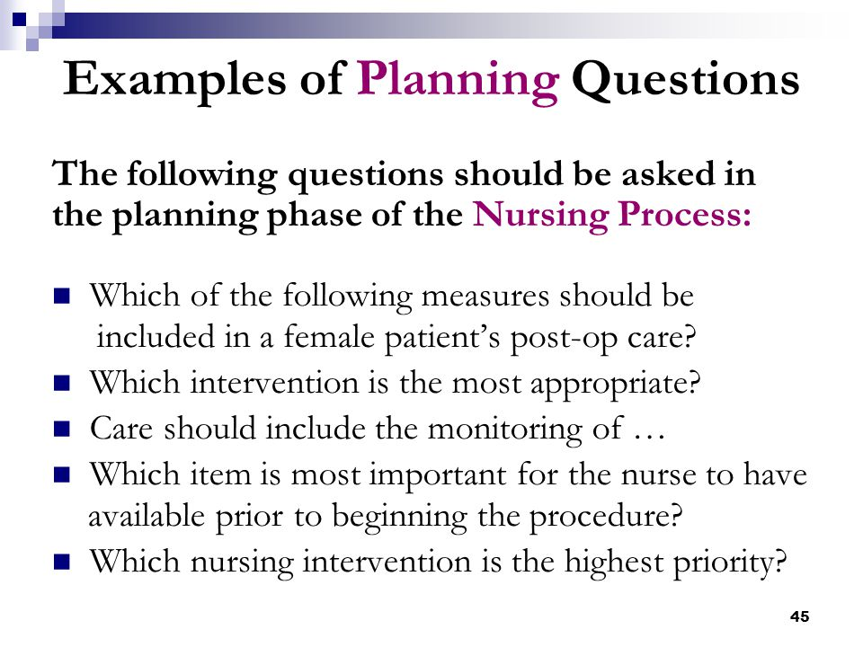 How to prioritize nursing care