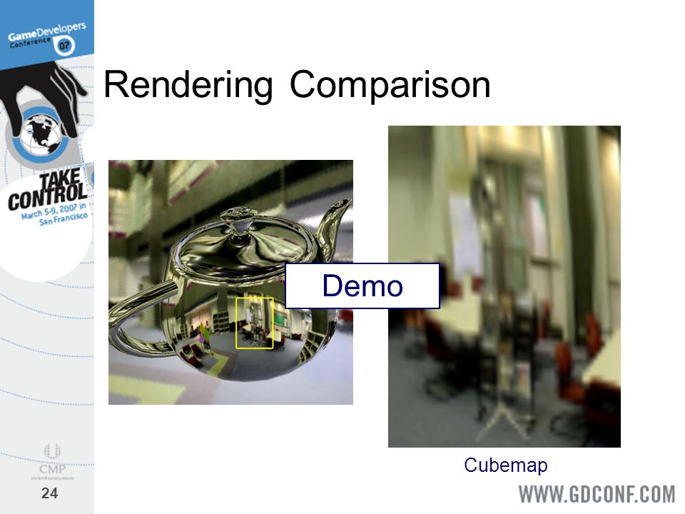 Rendering Comparison Demo Cubemap