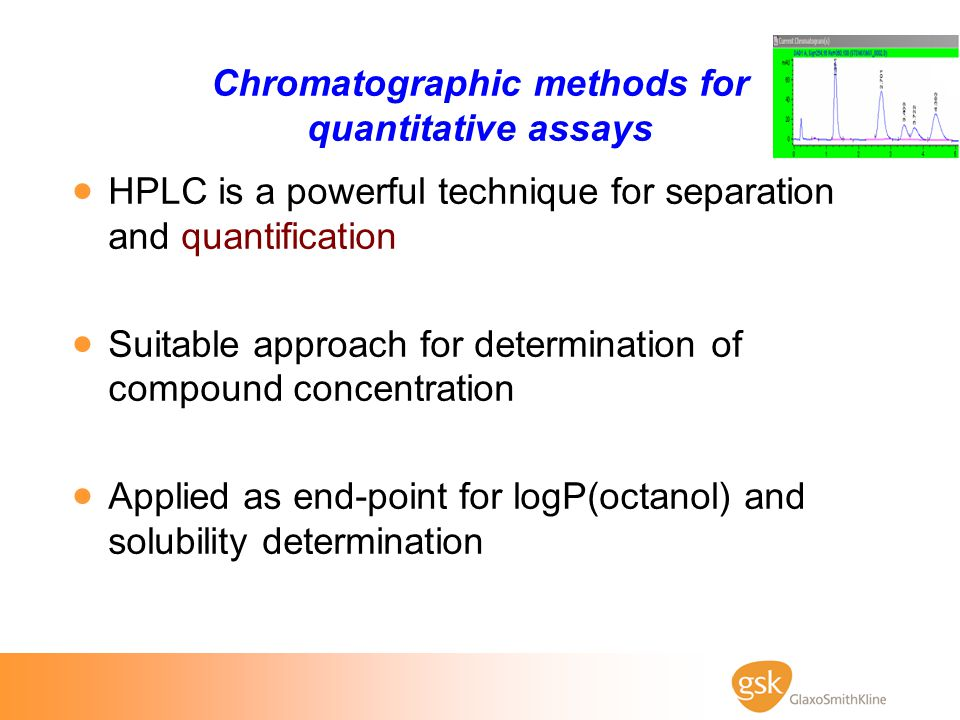Chromatographic methods for quantitative assays