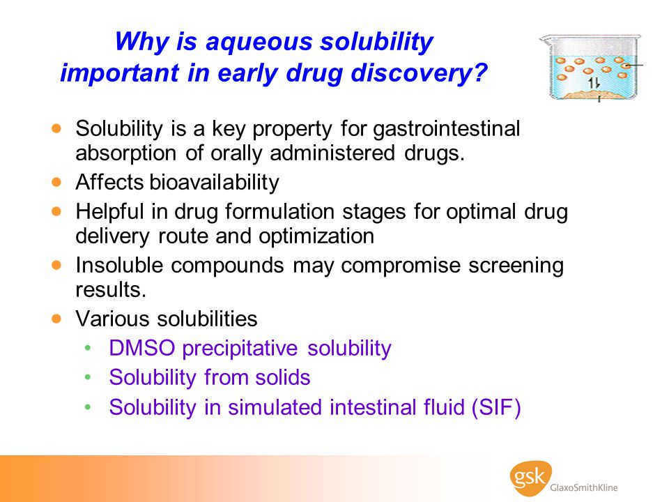 Why is aqueous solubility important in early drug discovery