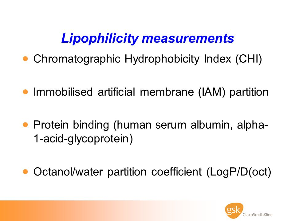 Lipophilicity measurements