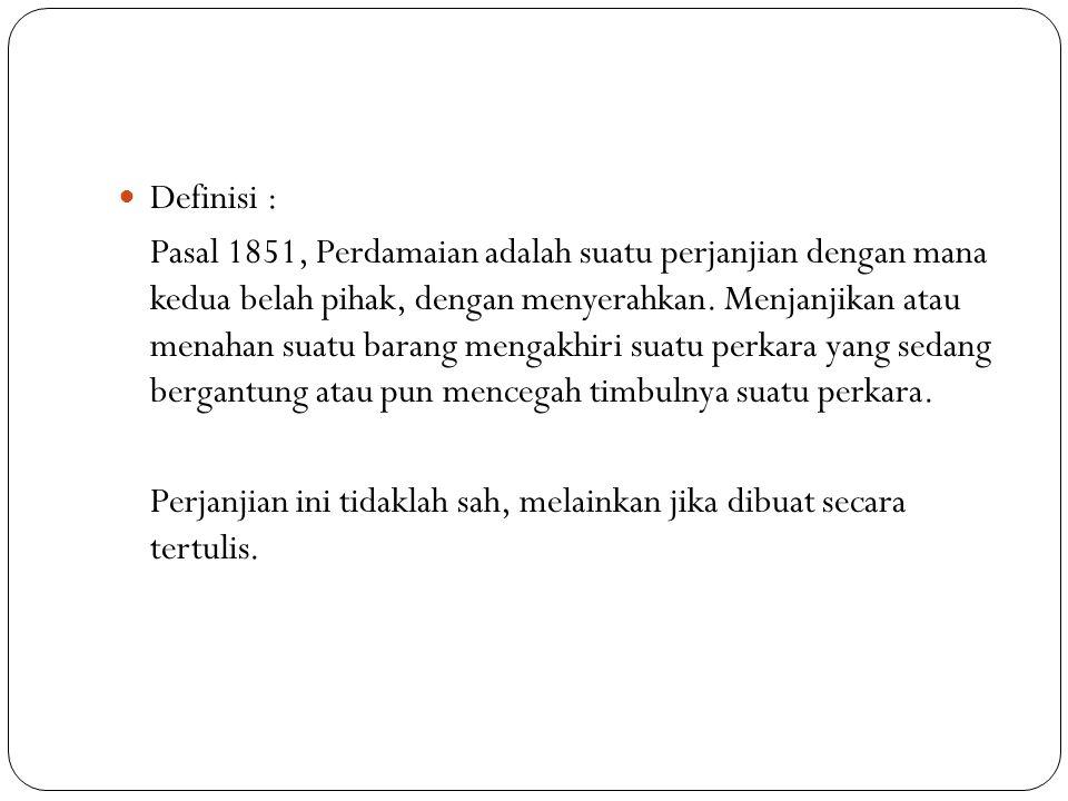 Definisi :