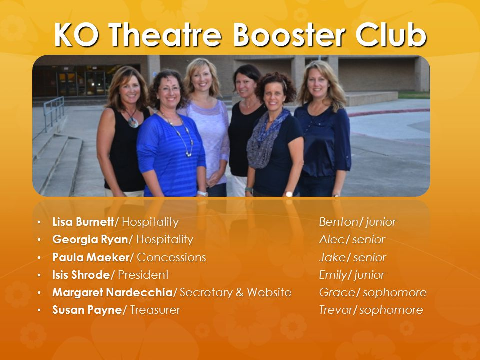 KO Theatre Booster Club