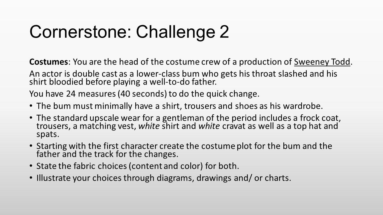 Cornerstone: Challenge 2