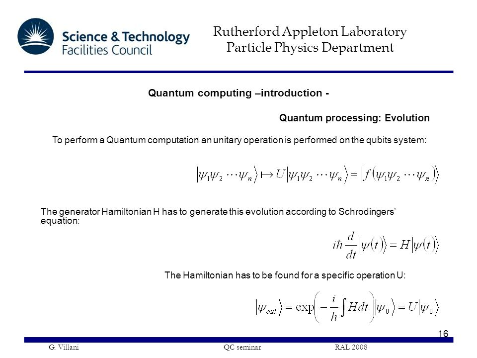 Quantum computing –introduction -