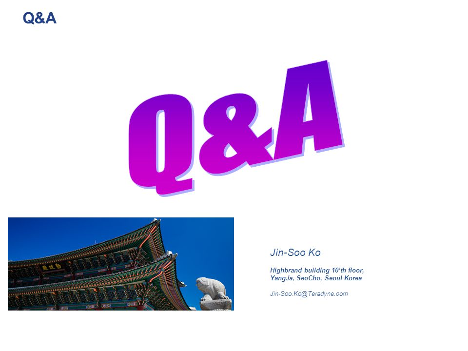 Q&A Q&A Jin-Soo Ko Highbrand building 10'th floor,