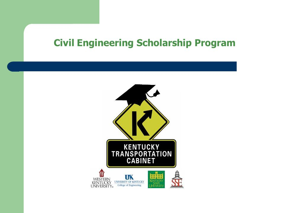 Civil Engineering Scholarship Program