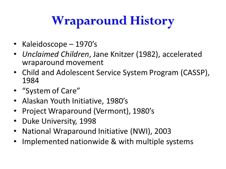 Wraparound History Kaleidoscope – 1970's