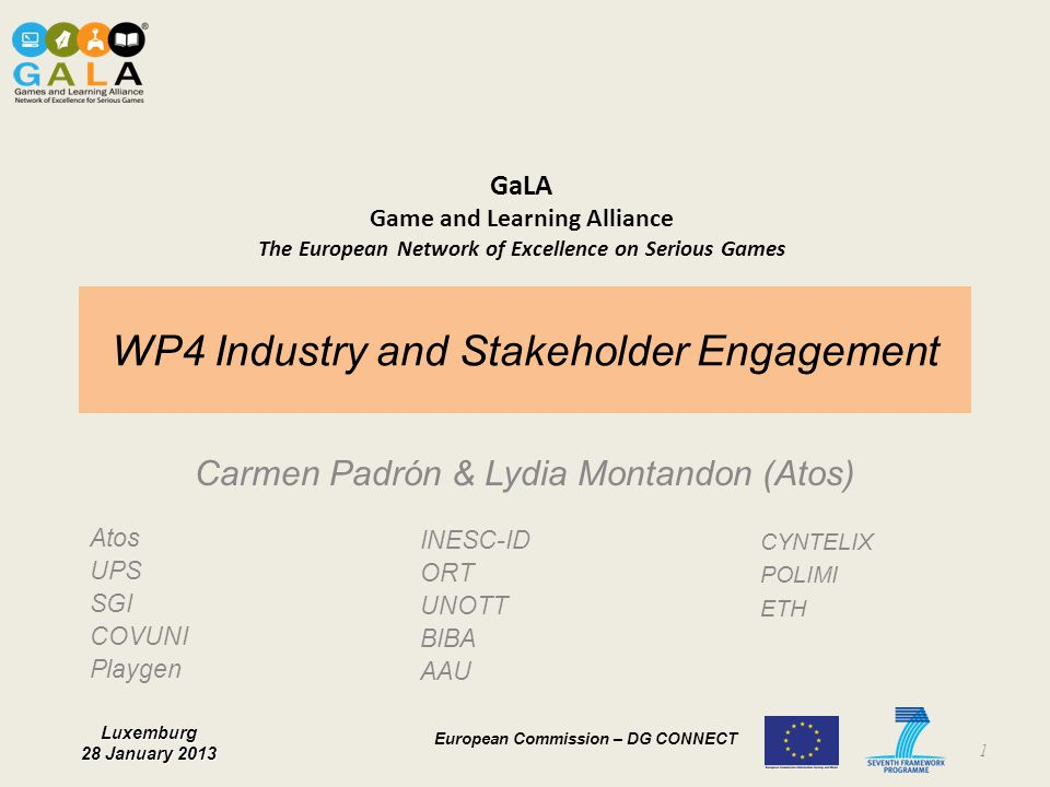WP4 Industry and Stakeholder Engagement