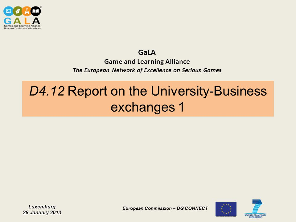 D4.12 Report on the University-Business exchanges 1