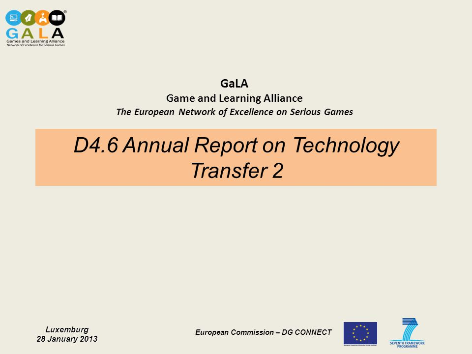 D4.6 Annual Report on Technology Transfer 2