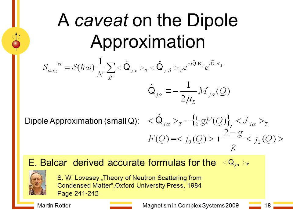 A caveat on the Dipole Approximation