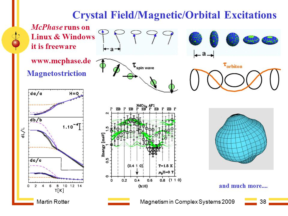 Magnetism in Complex Systems 2009