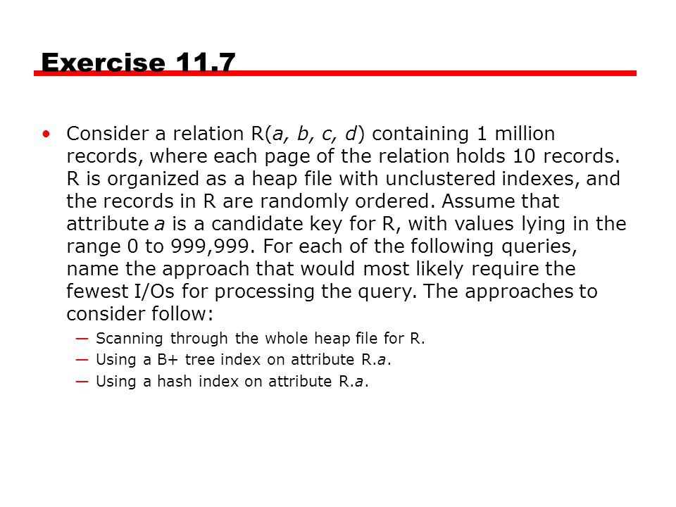 Exercise 11.7