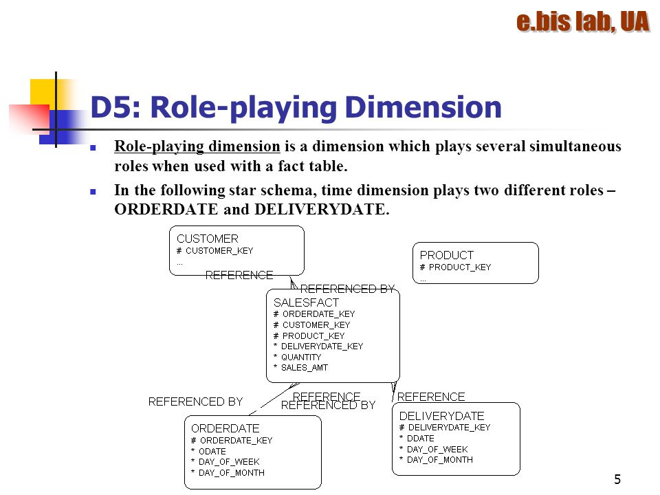 D5: Role-playing Dimension