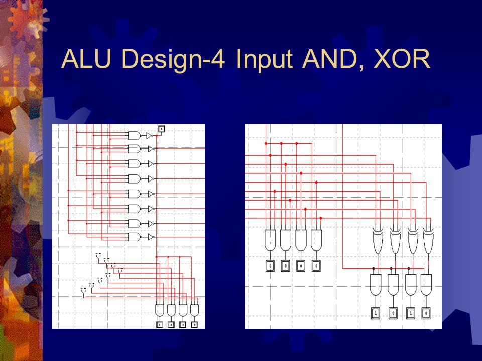 ALU Design-4 Input AND, XOR