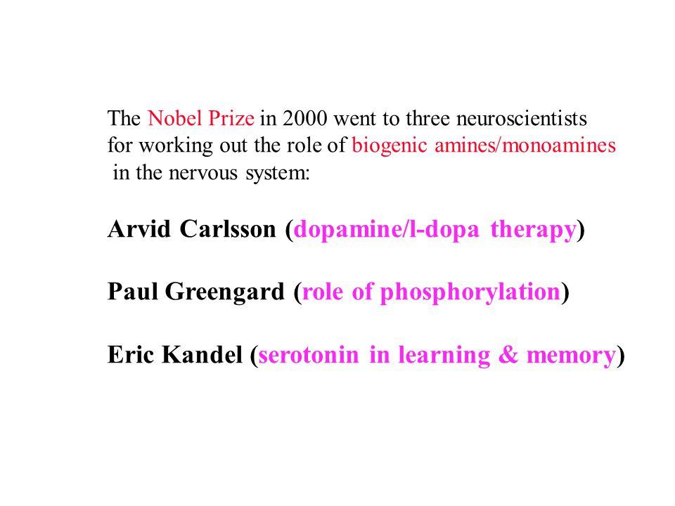 Arvid Carlsson (dopamine/l-dopa therapy)
