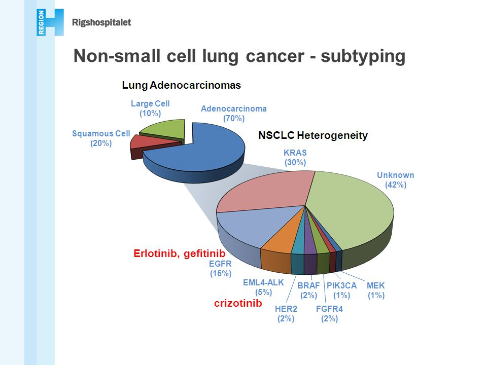 Non-small cell lung cancer - subtyping