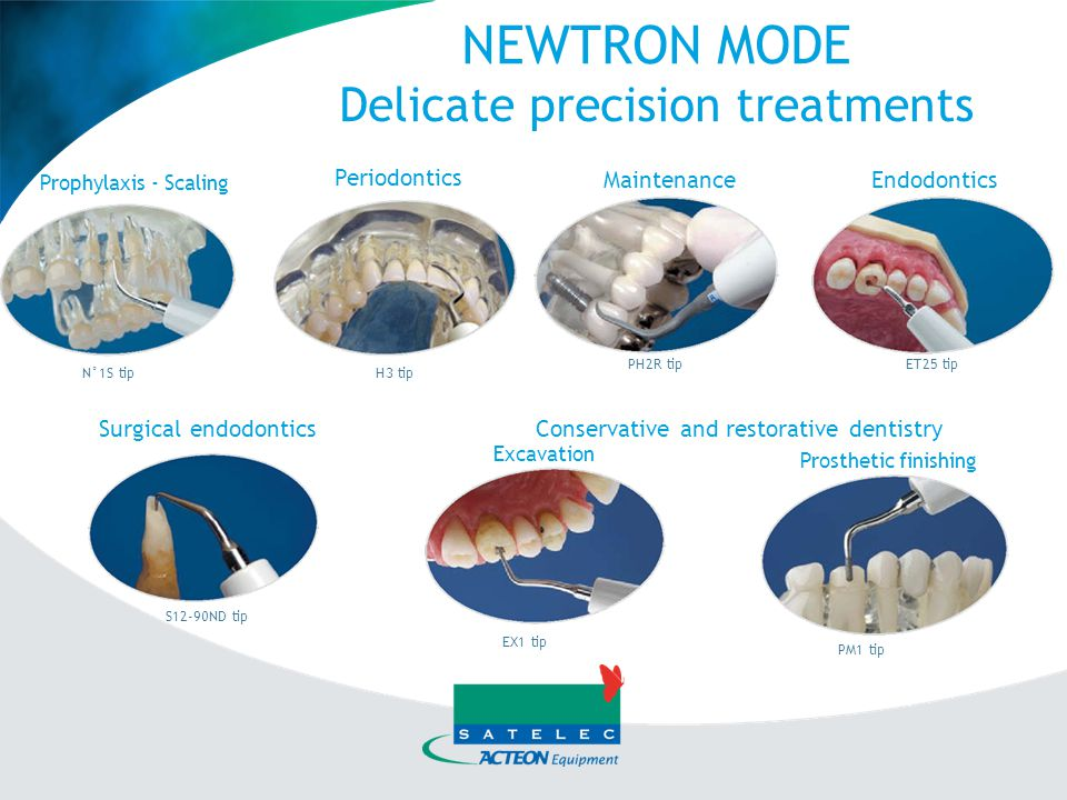 NEWTRON MODE Delicate precision treatments