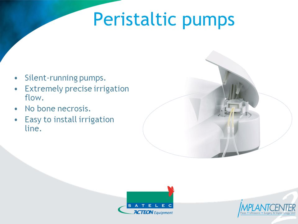 Peristaltic pumps Silent-running pumps.